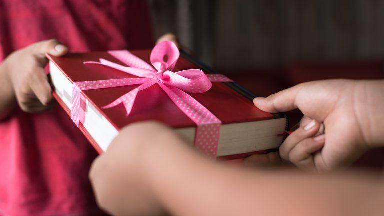 Giving a book